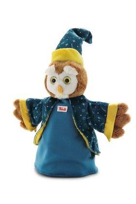 Hand Puppet Owl & Wizard - Trudi