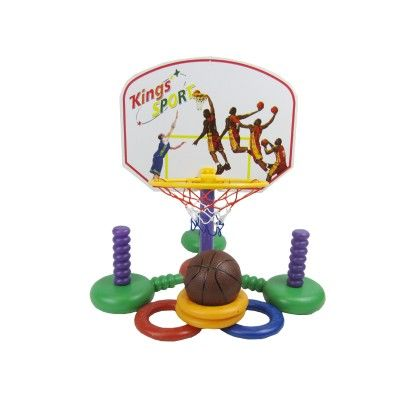 Kings Sport Water Game Real Action  Baseket Ball And Flying Discs - GLOPO
