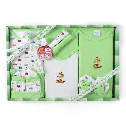 Set Of 10 Pcs Pack-green - Cool Baby