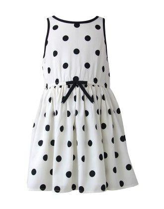 The Cranberry Club Polka Dot Dress
