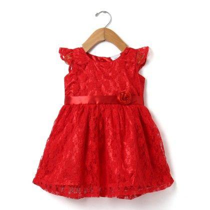 Party Lace Dress - Doodle
