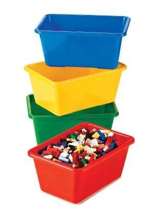 Small Primary Bin Pack - 4 Small Bins - Tot Tutors
