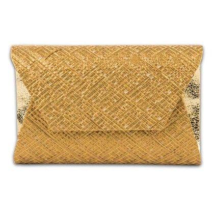Gold Gota Bag Hand Bag - Arancia