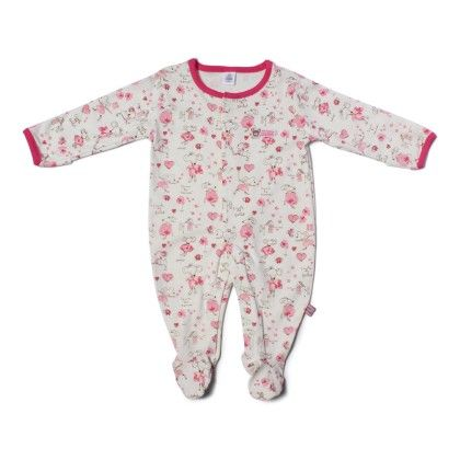 Little Mouse Allover Print Soft Sleepsuit-printed - TOFFYHOUSE