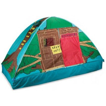 Tree House Bed Tent - 77 Inch X 38 Inch X 35 Inch - Pacific Play Tents