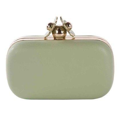 Green Daisy Box Hand Bag - Arancia