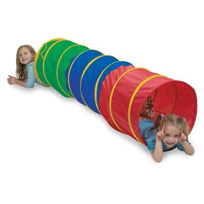 Find Me 6ft Tunnel - Multi Color - Pacific Play Tents
