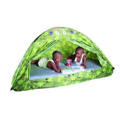 H.q. Bed Tent - 77 Inch X 38 Inch X 35 Inch - Pacific Play Tents
