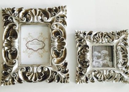 Wood Vintage Photo Frame - Small - Casa De Regalos
