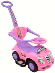 Ride On Car With Bb Sound And Push Bar - Baby Mix