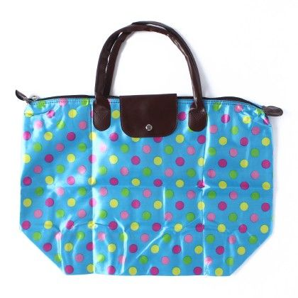 Pink Yellow Polka Dot Bag - Krongs & Kong