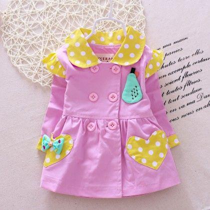 Sweet Love Polka Dotted Collar Dress - Maisie
