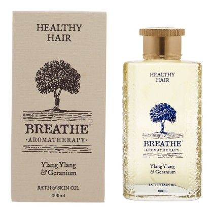 Healthy Hair Massage Oil - Breathe Aromatherapy