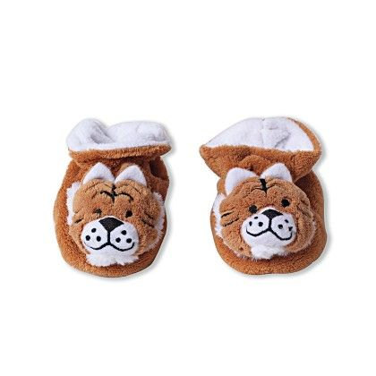 Ole Baby Soft Furry 3d Ole Toons Shoes Brown