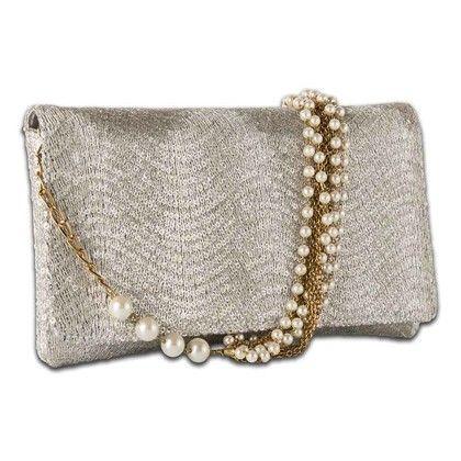 Arancia Silver Wave Bag Hand Bag