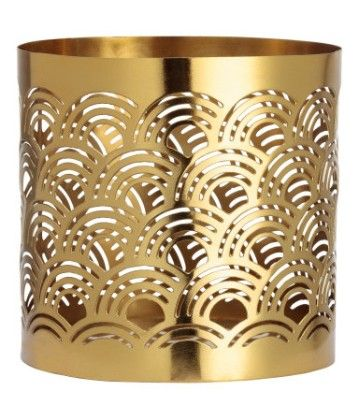 Metal Tea Light Holder - Gold - H&M Home