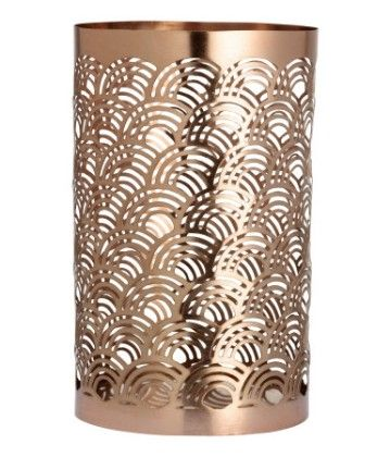 Metal Tea Light Holder - Bronze - H&M Home
