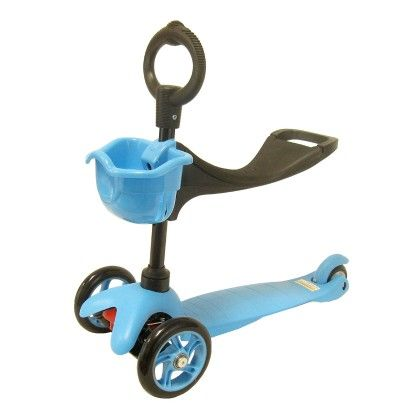 3 In 1 Scooter (blue) - GLOPO