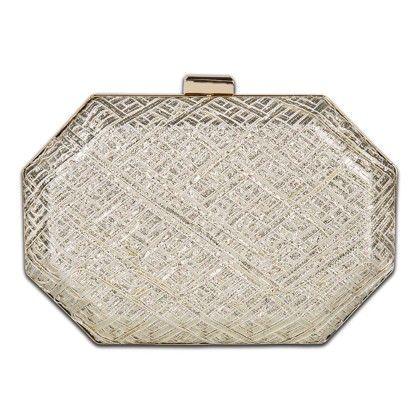 Hexagon Gota Work Hand Bag - Arancia