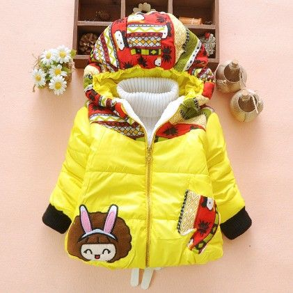 Yellow Puff Girl Jacket - Lil Mantra