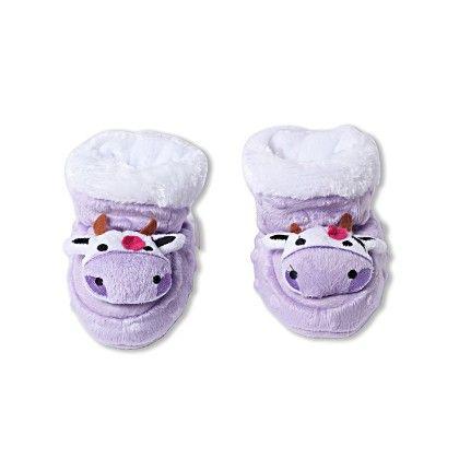 Ole Baby Soft Furry 3d Ole Toons Shoes Purple