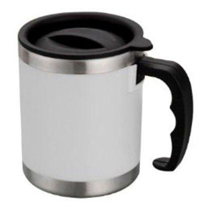 Pebbleyard 16 Oz White Mug Set Of 2