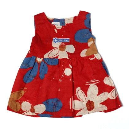 Floral Printed Girls Dress-printed - TOFFYHOUSE