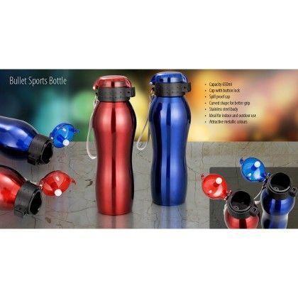 Pebbleyard Bullet Sports Bottle Set Of 2
