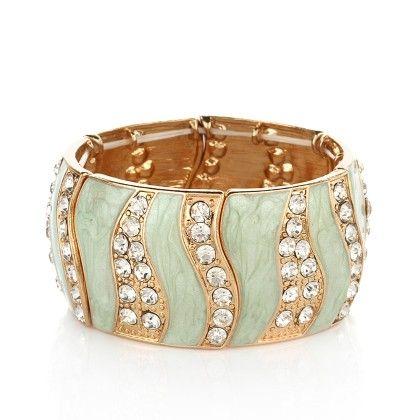 Dressvilla Enamel Bracelets Sea Blue