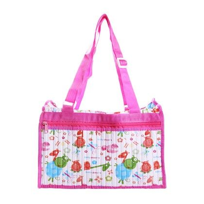 Diaper Bag-pink - Morisons* Baby Dreams