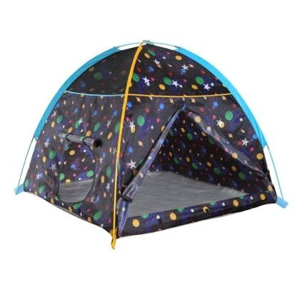 Galaxy Dome Tent With Glow In The Dark Stars - Pacific Play Tents