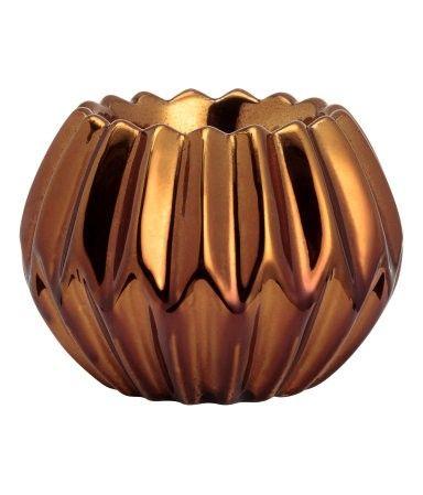 Tea Light/candle Holder - Bronze - H&M Home
