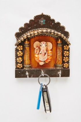 Key Holder Ganpati Mandir - Color Crave