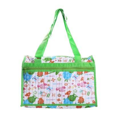 Diaper Bag-green - Morisons* Baby Dreams