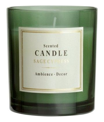 Scented Candle - Green - H&M Home
