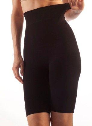 Seamless Milk Body Shaping High Waist Support Shorts - Black - Gabrialla