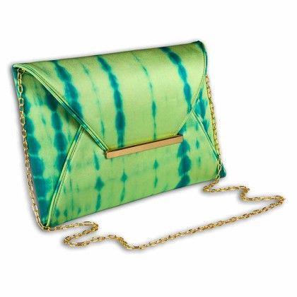 Forest Tiedye Envelope Hand Bag - Arancia