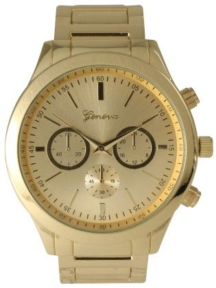 Vernier Women's Classic Feminine Gold Tone Bracelet Watch - Vernier Watches