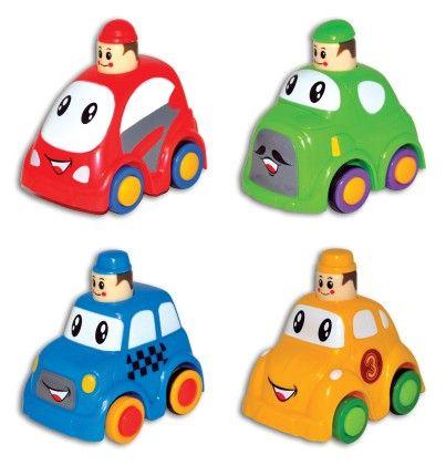 Press & Go Play Cars - Assorted - Novelty Inc