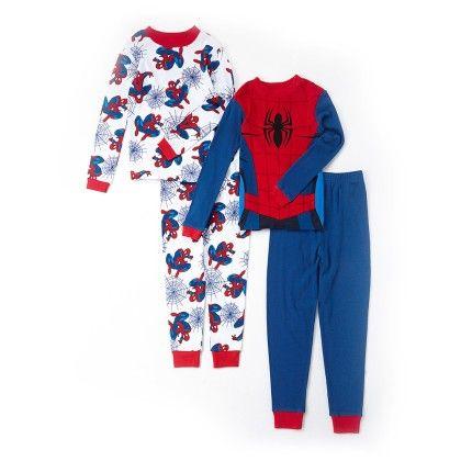 Set Of 2 Spidey Pajama - American Sleepwear