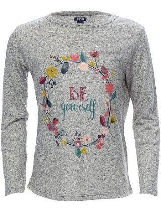 Slogan Print T-shirt - Kiabi