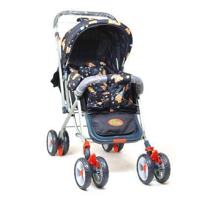 Dealbindaas Pram Stroller Foldable Assorted Colour - Deal Bindaas