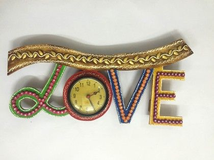 Wall Clock Love - Color Crave