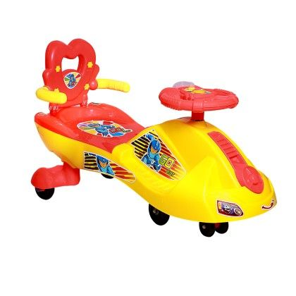 Fast N Furious Swing Car With Back And Music Red - Deal Bindaas