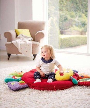 Lotty Light & Sound - Tummy Time Playmat & Gym - Mamas & Papas