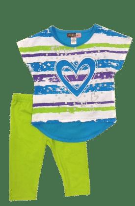 Capri Set-blue - Baby Ziggles