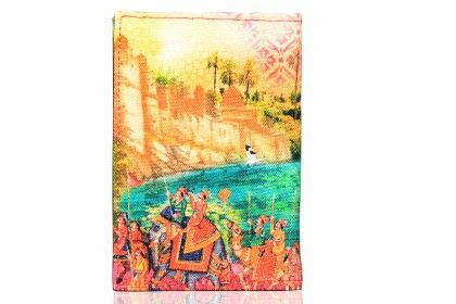 Indian Art Parade Passport Holder - Eco Corner