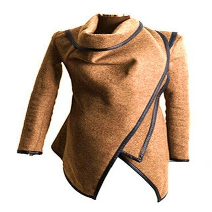Wollen Coat Tan - STUPA FASHION
