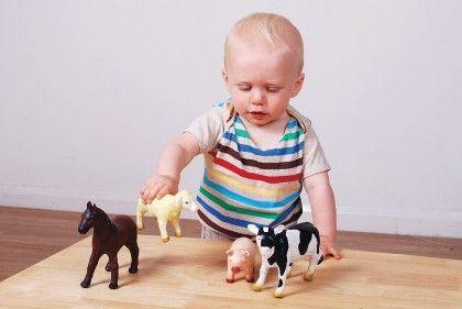Soft Rubber Animals - Farm Set - Commotion Distribution
