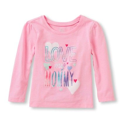 Ong Sleeve 'love My Mommy' Graphic Tee - The Children's Place